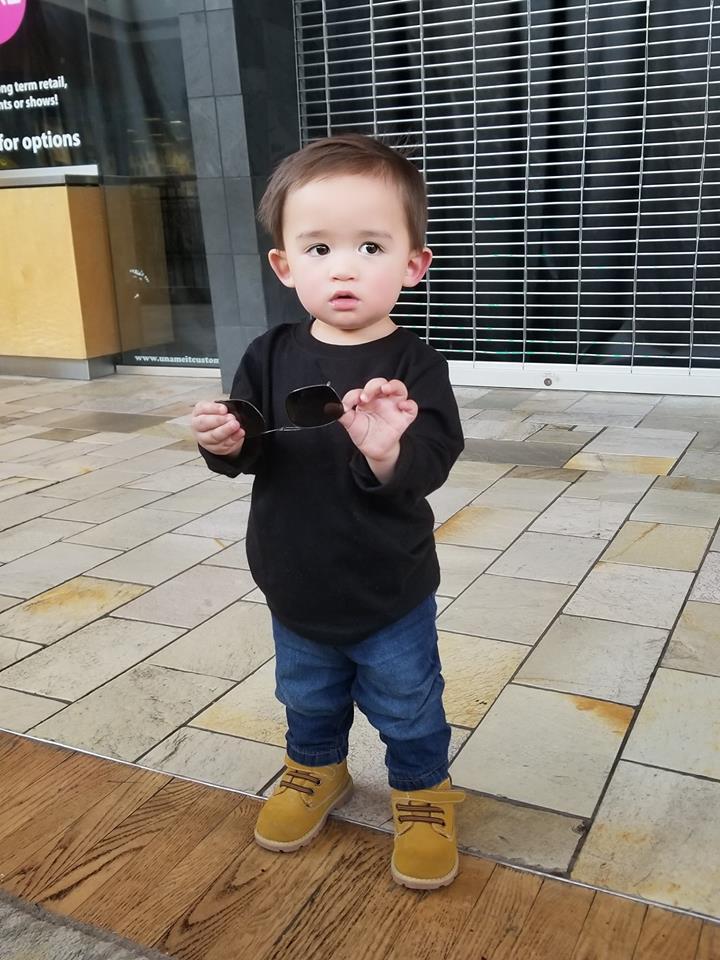 filipino american baby handsome
