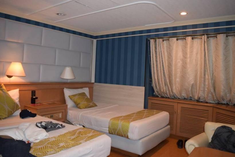 2Go Cruiseship Hotel Room